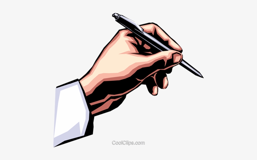 Hand Writing With Pen Royalty Free Vector Clip Art Mao Com Caneta Png Free Transparent Png Download Pngkey Writer clipart black and white. hand writing with pen royalty free
