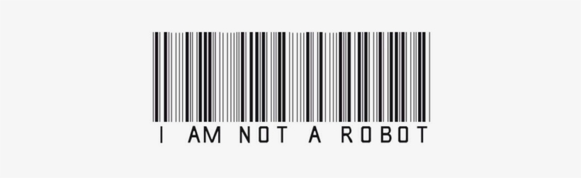 I Am Not A Robot - One Of A Kind Throw Blanket, transparent png #1351268