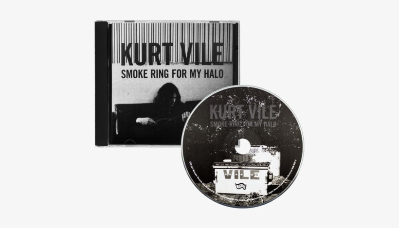Smoke Ring For My Halo Cd - Kurt Vile: Smoke Ring For My Halo Cd, transparent png #1352524