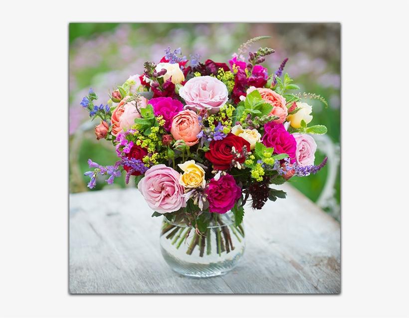 Nancy, Florist At Our London Flower Shop - Real Flower Bouquet, transparent png #1352915