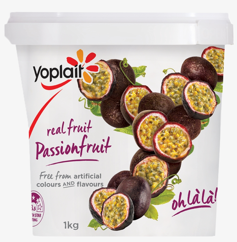 Yoplait Passionfruit - Yoplait Passion Fruit Yogurt, transparent png #1354659