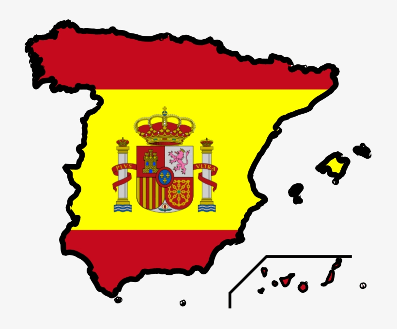 Map Of Spain Download Free.Spain Flag Map Spain Clip Art Free Transparent Png Download Pngkey