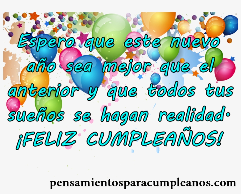Frases De Cumpleaos Bonitas Para Un Amor Con Mensaje - Bonitas Mensajes De Cumpleaños, transparent png #1357014