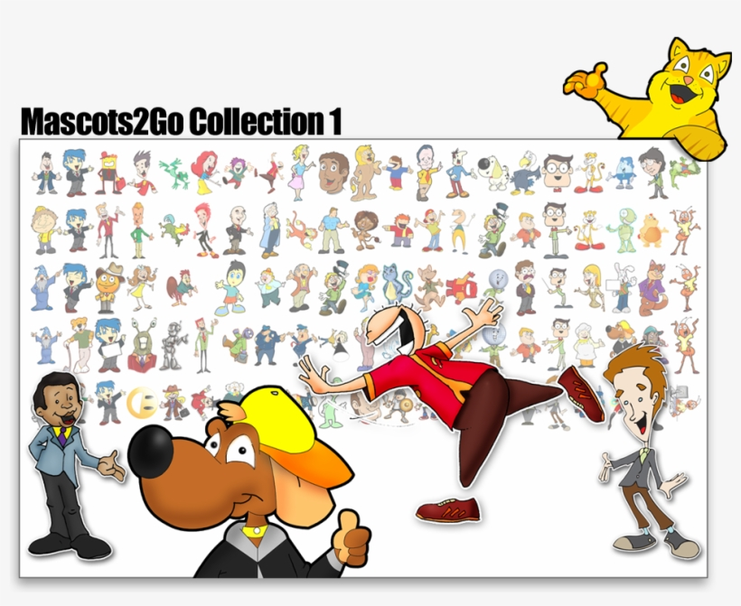 Vector Character Collection - Cartoon Character Creator