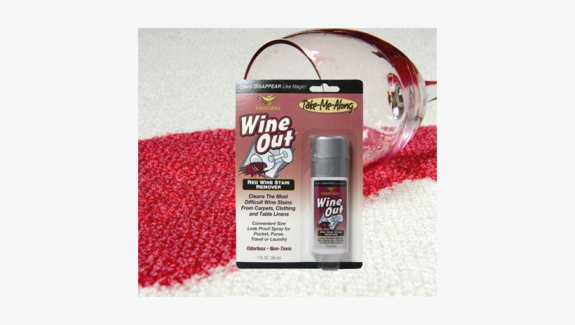 Wine Out Stain Remover - Gonzo Wine Out - Red Wine Stain Remover Spray - 30ml, transparent png #1363394