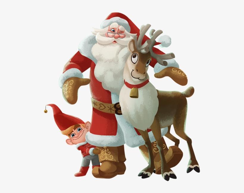 For Santa - Santa Claus Finland Finnish Santa Cartoon, transparent png #1365575