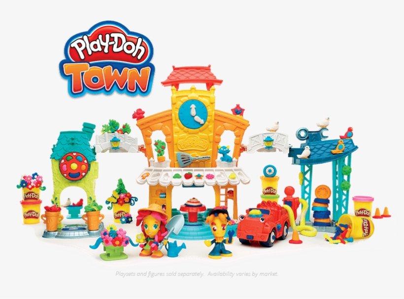 Play Doh - 3 In 1 Town Center /toys (gadgets), transparent png #1366832