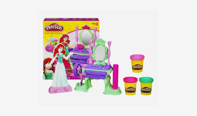 Play-doh Disney Princess Ariel's Royal Vanity, transparent png #1366859