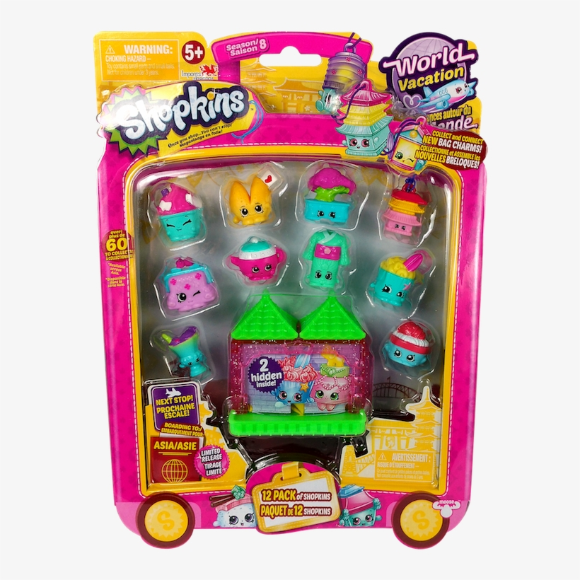 Id56521 Front - Shopkins Party Pack Series 8 Wave 1, transparent png #1366916