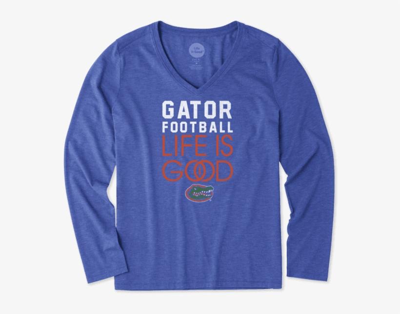 Women's Florida Gators Infinity Football Long Sleeve - University Of Oklahoma Women's Shirt, transparent png #1367055
