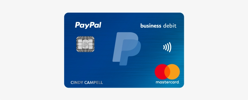Get The Card That Can Help You Get Things Done - Paypal Business Debit Card, transparent png #1367240