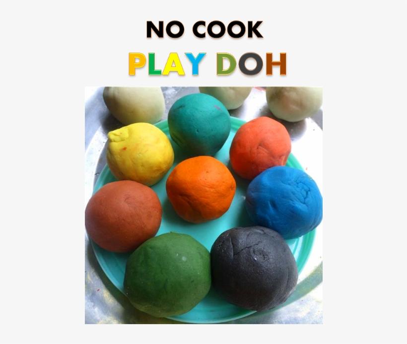 No Cook Play Dough Recipe - Recipe, transparent png #1367471