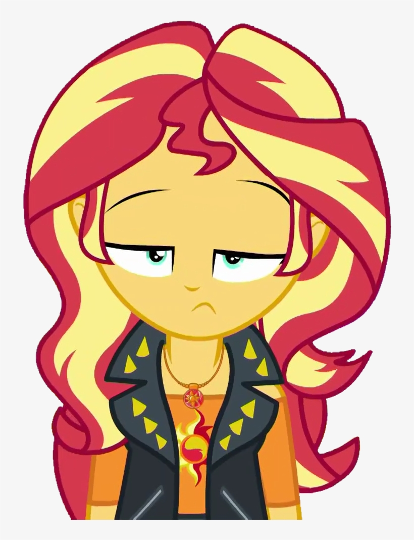 A Fine Line, Artist - Sunset Shimmer Equestria Girl Series, transparent png #1368906