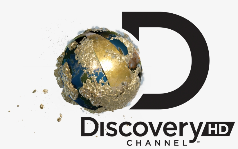 Gold Dc Hd Black Rgb - Discovery Channel Logo 2018 - Free