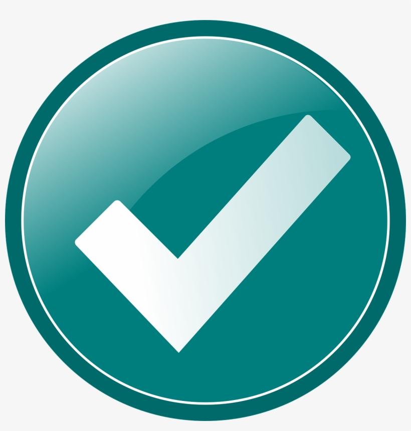 Checkmark Graphic - Green Circle Check Mark, transparent png #1371309