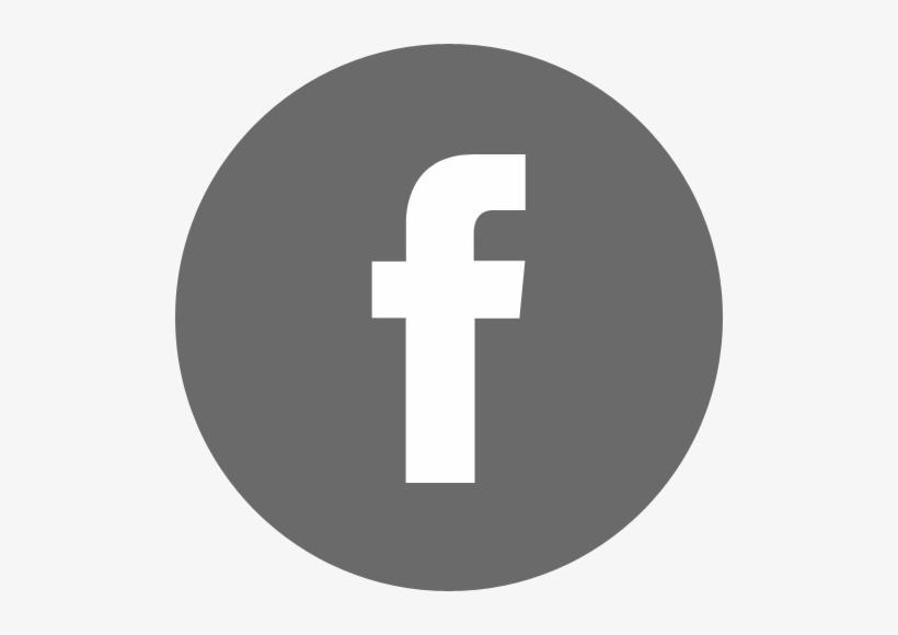 Facebookbyn - Facebook Logo Grey Circle, transparent png #1372484