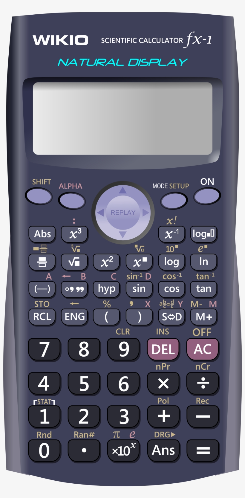 Free Download, Png And Vector - Casio Fx-82es Plus
