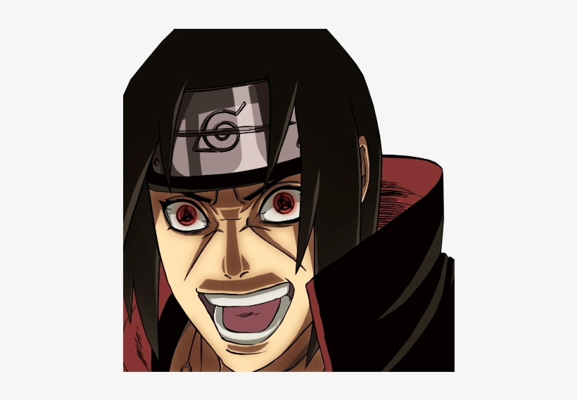 Look Up And In The Pictures - Itachi Uchiha, transparent png #1375077