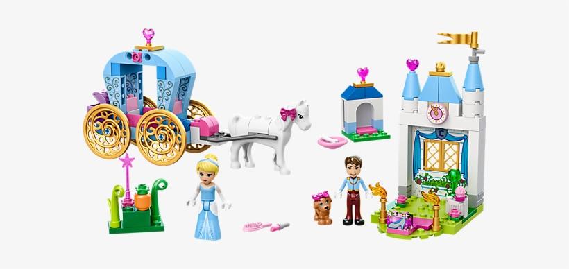 Cinderella's Carriage - Lego 10729 Juniors Disney Princess Cinderella's Carriage, transparent png #1375707