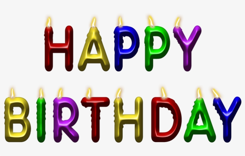 Birthday Candles Png Image With Transparent Background