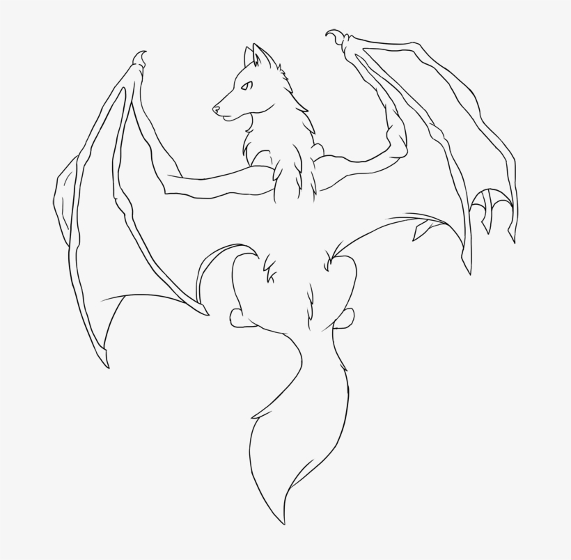 Demon Wings Drawing At Getdrawings Dragon Winged Wolf Base Free Transparent Png Download Pngkey The wolf (canis lupus), also known as the gray wolf or grey wolf, is a large canine native to eurasia and north america. demon wings drawing at getdrawings