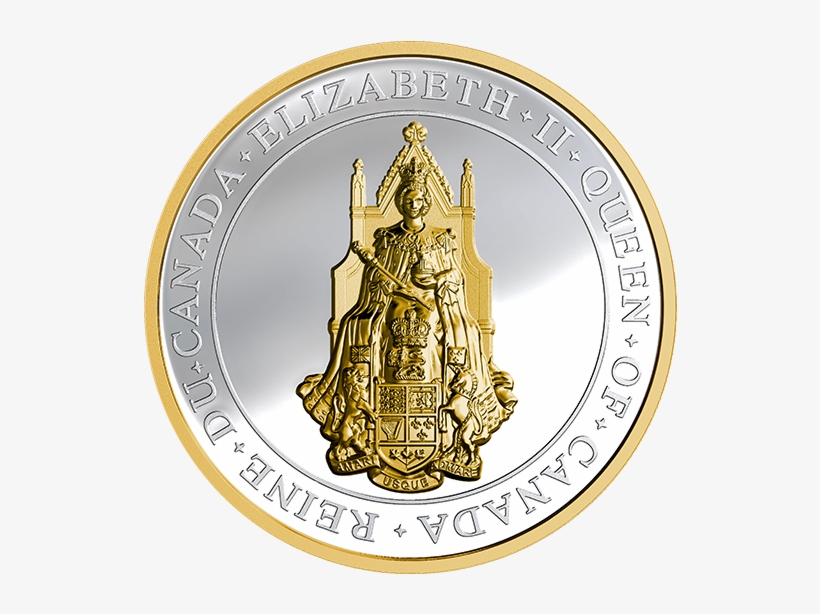 Pure Silver Gold-plated Coin - 2017 Fine Silver 25 Dollar Coin - The Great Seal Of, transparent png #1376555