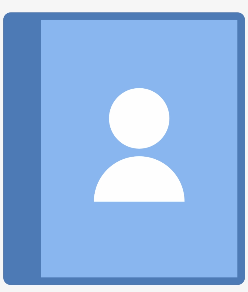 Phone Contacts Icon Contacts Icon Free Free Transparent Png Download Pngkey