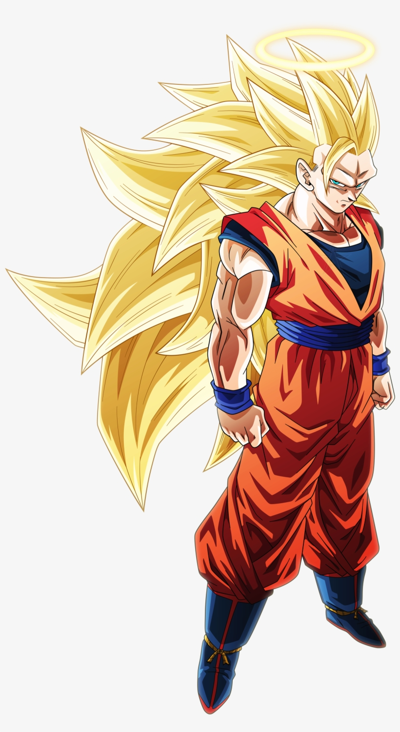 Super Saiyan 3 Goku Png Clip Royalty Free Stock Super Saiyan 3 Goku Angel Free Transparent Png Download Pngkey