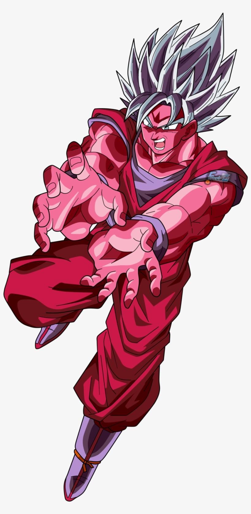 Goku Super Sayian Blue Kaioken Goku Ssj Blue Kaioken X10