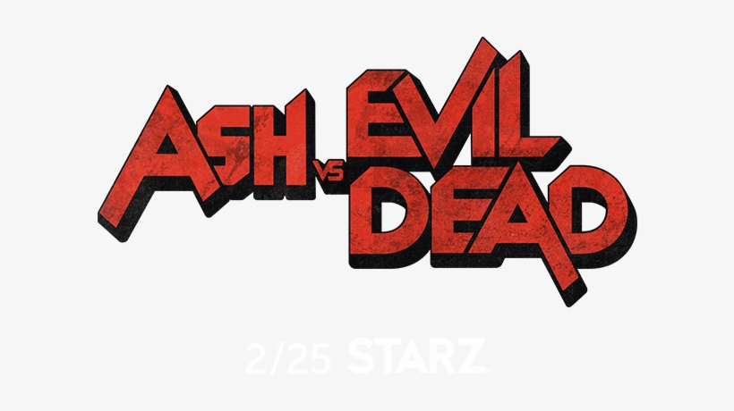 Ash Vs Evil Dead Png Svg Black And White Stock - Ash Vs Evil Dead Logo, transparent png #1378797