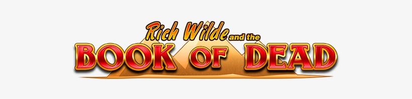 Game Logo Book Of Dead - Book Of Dead Slot Logo, transparent png #1379357