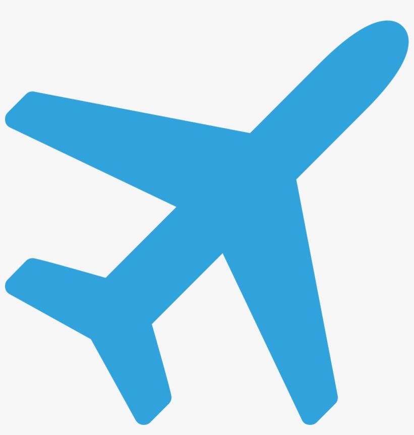 Icon Airplane Icon Blue Png Free Transparent Png Download Pngkey