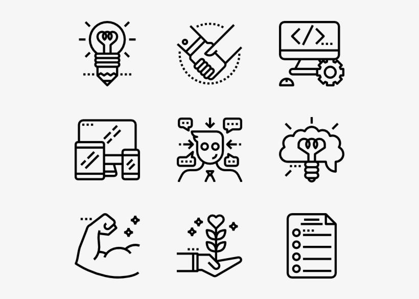Job Resume 36 Icons Travel Icon Transparent Background Free