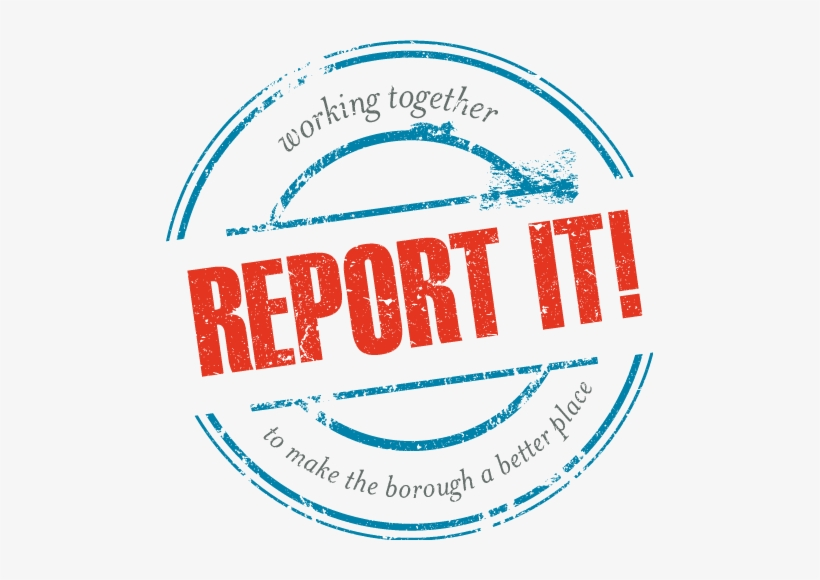 Abc Report It Stamp Logo - Report Anti Social Behaviour, transparent png #1384150