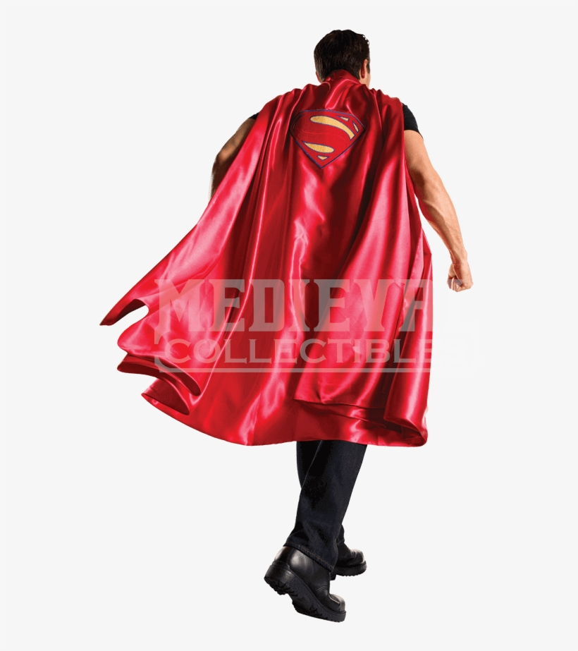 Adult Deluxe Superman Cape - Rubie's Dawn Of Justice Adult Deluxe Superman Cape, transparent png #1385850