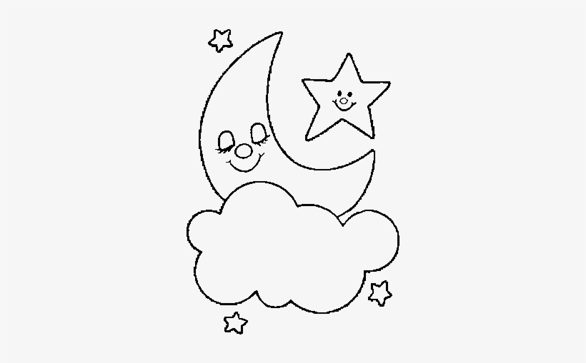 Free Moon And Stars Coloring Pages Printable, Download Free Clip ... | 509x820