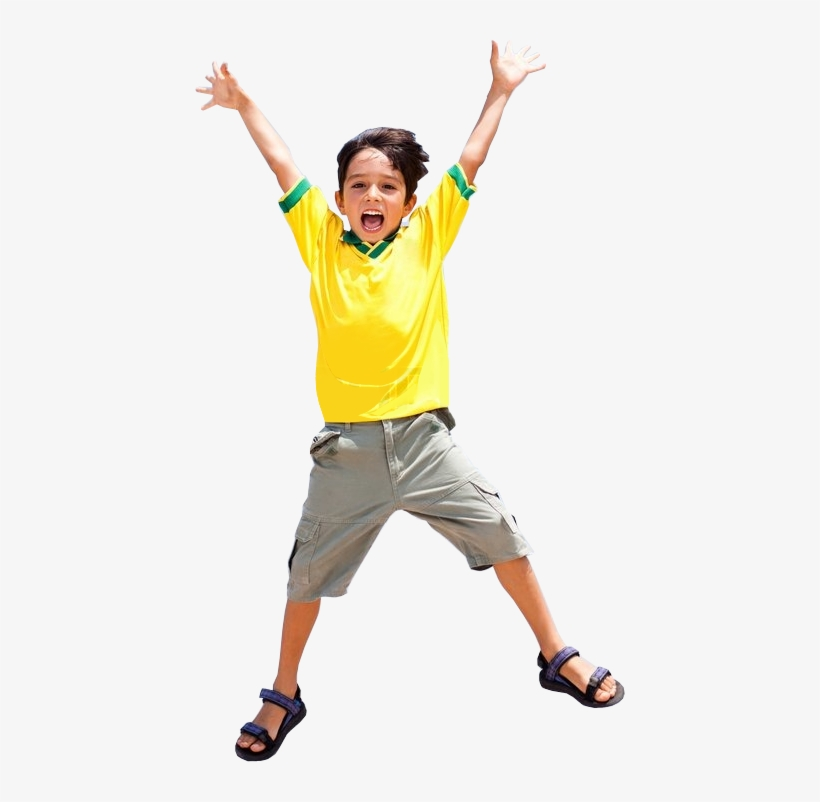 Happy Kid - Jumping Kid Png, transparent png #1387794