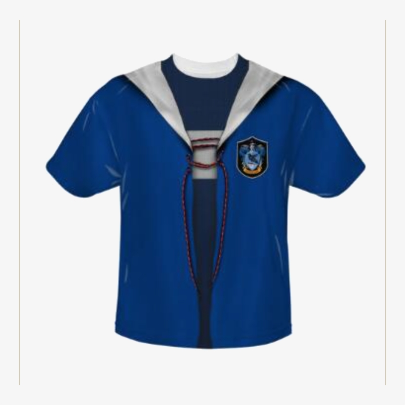 Ravenclaw Jersey - Harry Potter Ravenclaw Crest Big Boys Youth Shirt, transparent png #1388271