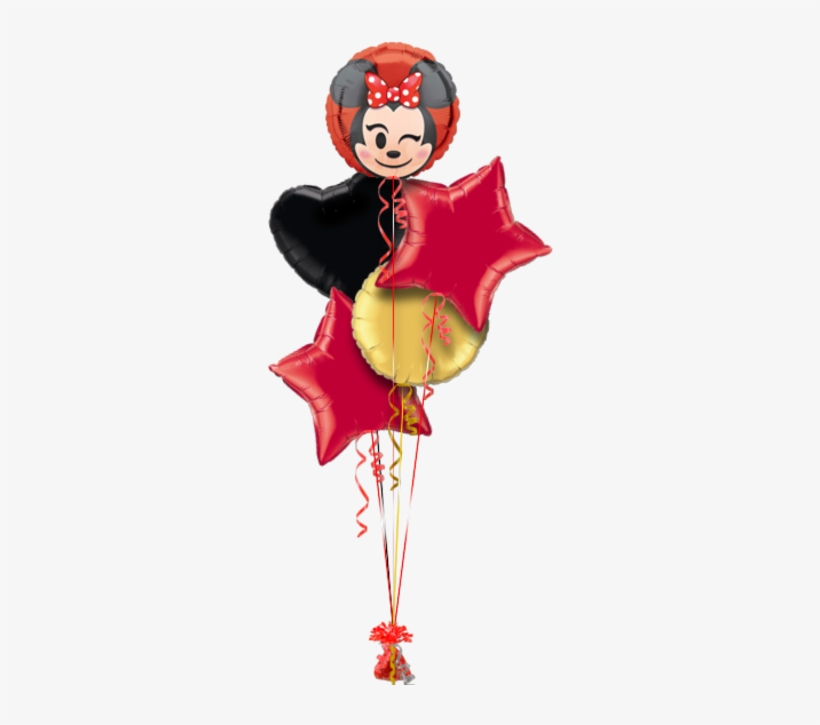 Minnie Mouse Emoji Birthday Balloon