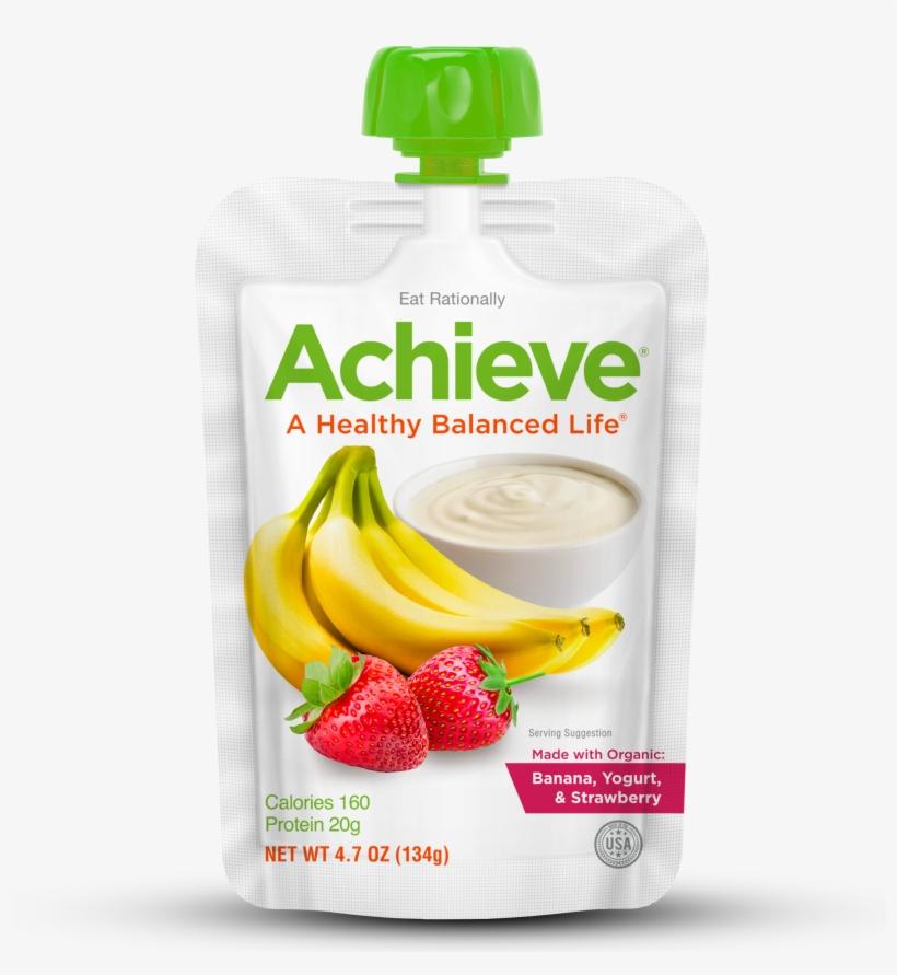 Banana, Strawberry & Yogurt - Strawberry, transparent png #1389920
