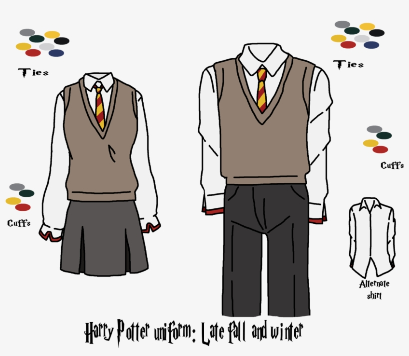 Dresses Drawing Harry Potter - Harry Potter Robes Drawing, transparent png #1390413