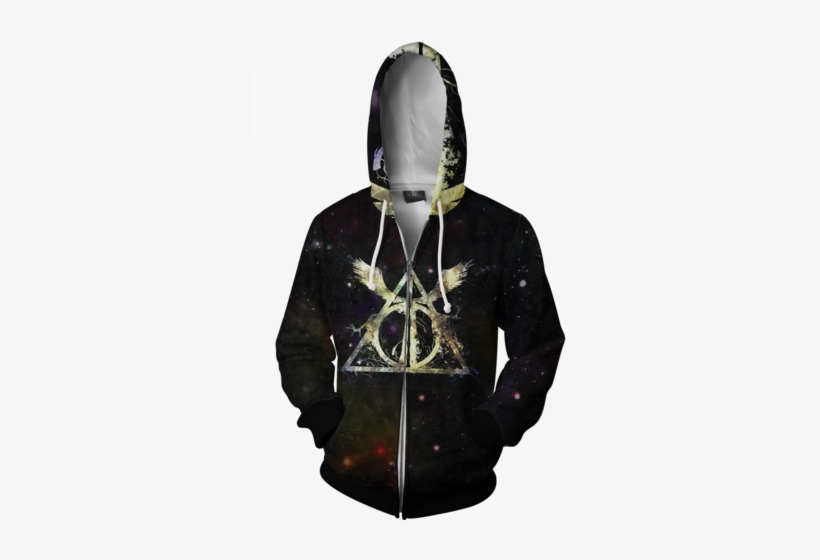 Image Of Gryffindor Harry Potter - Black Odd Future Cat Hoodie, transparent png #1390548