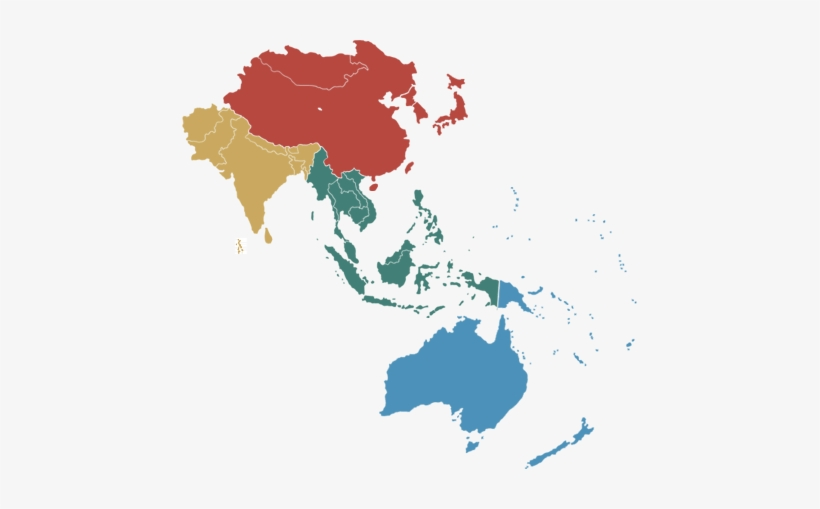 Asia-pacific - Asia Pacific, transparent png #1393380