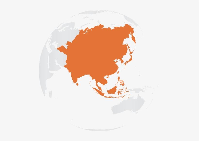Asia - Y Haplogroup Map R2, transparent png #1394045