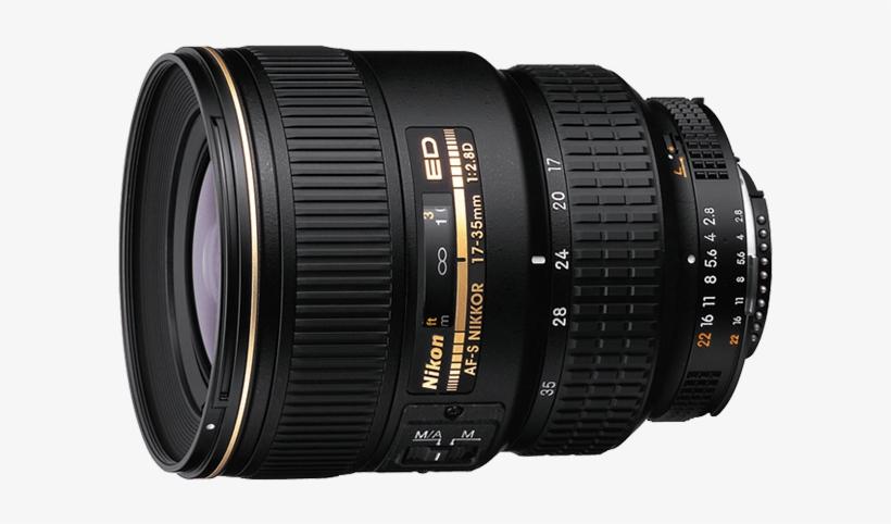 Af S Zoom Nikkor 17 35mm F/2 - Nikon Af-s Nikkor 17-35mm F/2.8d If-ed Lens, transparent png #1395902