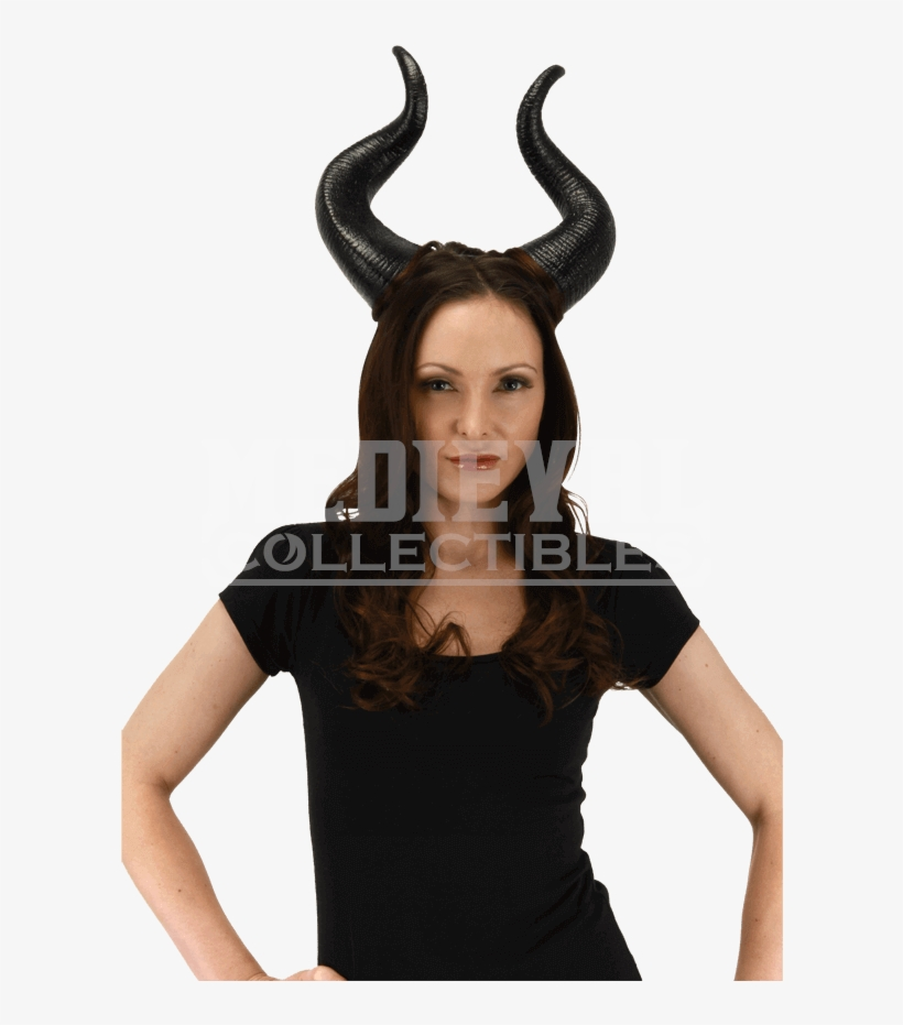 Disney Maleficent Deluxe Horns - Maleficent Costume Adult, transparent png #1397046