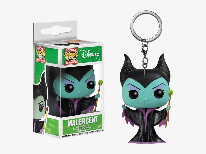 Maleficent Pocket Pop Vinyl Keychain - Disney Maleficent Pocket Pop! Vinyl Key Chain, transparent png #1397256
