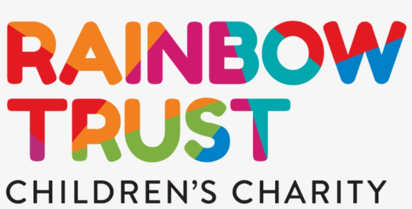 A Brand New Look For Rainbow Trust - Rainbow Trust Logo, transparent png #1398018