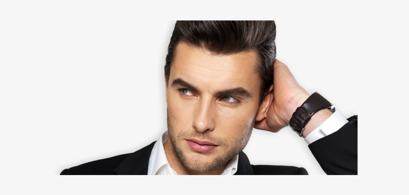 Visit Apollo Hair Center In Spokane, Wa For Attractive - Male Hair Model Png, transparent png #1399588