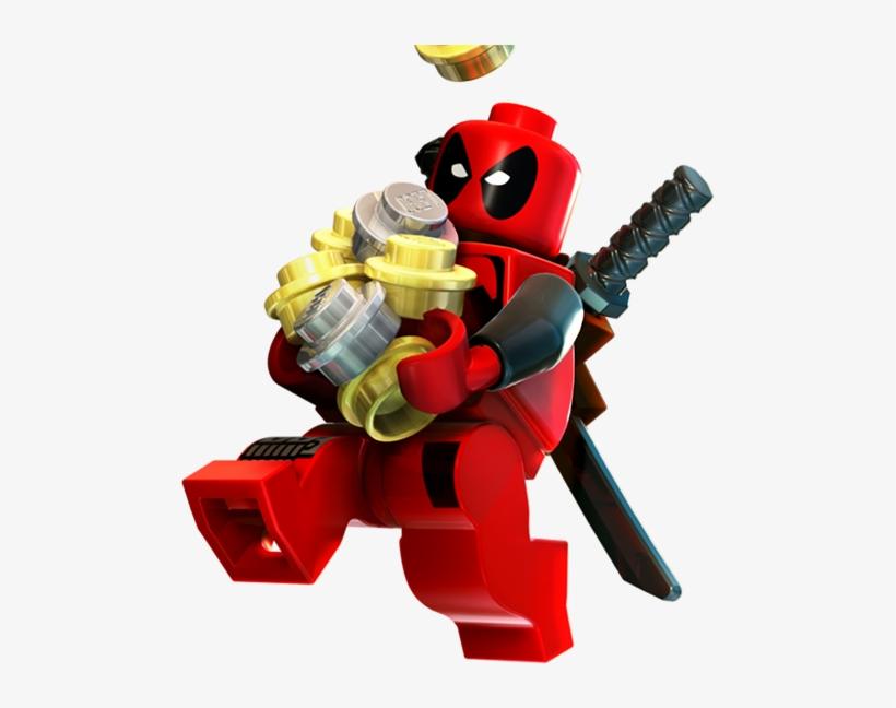 Lego Png High-quality Image - Lego Marvel Super Heroes Deadpool, transparent png #140093